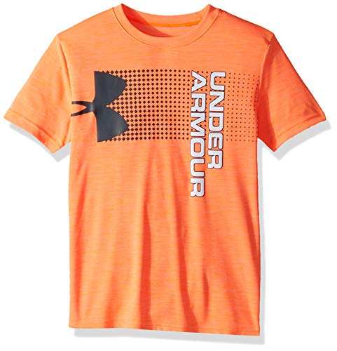 Under Armour Jungen Crossfade Tee Kurzarmshirt, Orange, YLG
