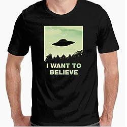 Camiseta Ovni - Diseño Original - I Want to Believe - El mejor regalo