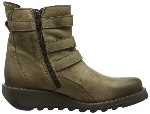 FLY London Sard734fly, Bottes Classiques femme Beige - Beige (Taupe)