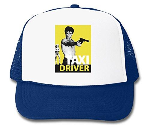 Taxi Driver De Niro With Gun Design Trucker - Driver Taxi Cap