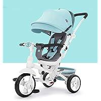 Niñito Carrito de bebé Plegable Triciclo de dirección/Carrito para bebé/Bicicleta Infantil Carro
