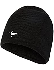 SealSkinz Kappe Waterproof Beanie Hat - Gorra para hombre, color negro, talla 2XL