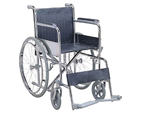 KosmoCare Dura Rexine Spoke wheel Regular Foldable Economy Wheelchair