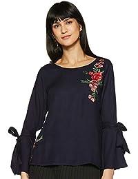 FabAlley Women's Plain Regular Fit Top