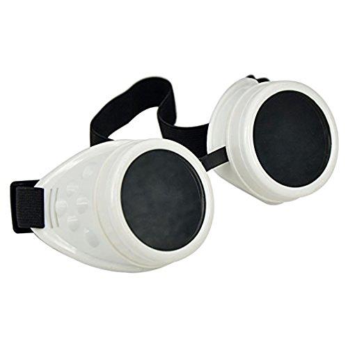 niceEshop(TM) Vintage Stil Steampunk Brille