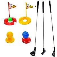 SOWOFA Champion Training Plastic Toys Junior Pro Golf Clubs Set 12 Unidades Pack