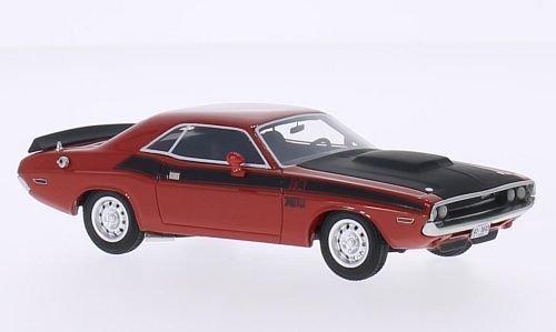 dodge-challenger-t-a-rosso-nero-1970-modello-di-automobile-modello-prefabbricato-bos-modelos-143-mod