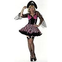 Sexy da Donna Pirata Costume da con Petticoat misure 8-18