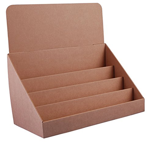 Desertcart bahrain stand store buy stand store products online in stand store 18 inch 4 tier cardboard greeting card display stand brown pack of 4 m4hsunfo
