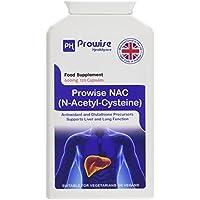 PROWISE NAC N-Acetyl-Cystein 600mg 120 Kapseln UK Made GMP Garantierte Qualität Geeignet für Vegetarier und Veganer preisvergleich bei fajdalomcsillapitas.eu