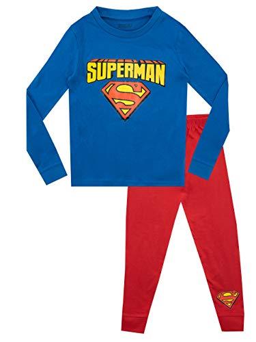 DC Comics Pijamas Manga Corta niños Ajuste Ceñido