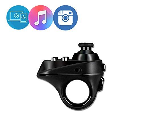Mini VR Remote Control, JUMPFISCH Bluetooth Wireless Gamepad for VR