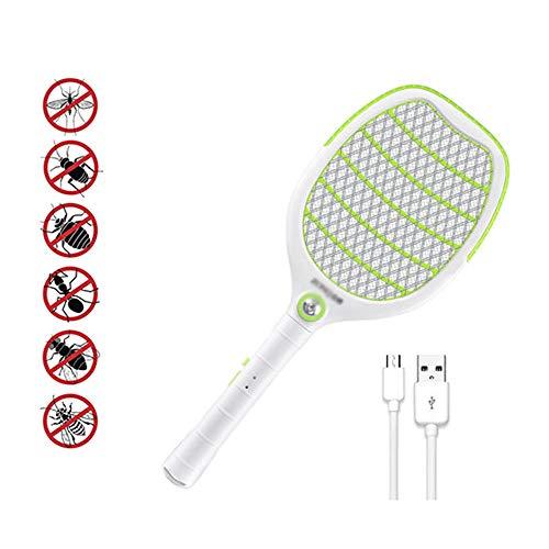 AA-SS-Fly Swatter Elektrische Fliegenklatsche Schläger Batteriebetriebene Tennis Handheld Elektrische Moskito Bug Zapper Beat Für Camping Outdoor Nacht