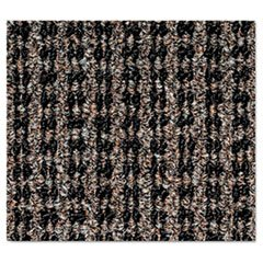Oxford Wiper Mat, 36 x 60, Black/Brown, Sold as 1 Each
