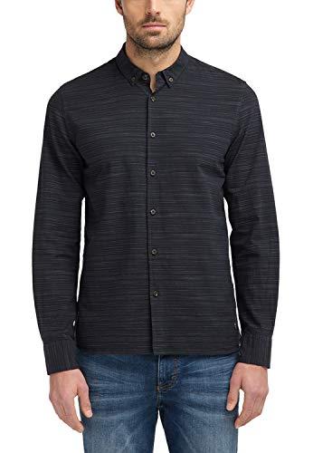 MUSTANG Herren Slim Fit Button-down-Hemd (Herren-nadelstreifen-hemd)