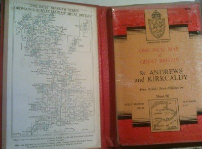 st-andrews-and-kirkcaldy-one-inch-map-of-great-britain-sheet-56-cloth-national-grid