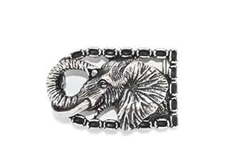 VaModa Boucle de ceinture 'éléphant heureux'