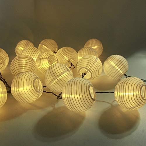 Led Solar Lichterkette Lampions Aled Light Ip65 Wass