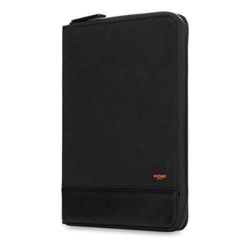 knomo-58-065-blk-tablet-cases-folio-black-canvas-fabric-universal-bag-hand