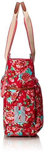 Basil Fahrradshopper Bloom-Shopper Scarlet Red