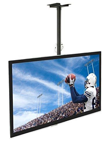 "Mount-It! MI-501B LCD/LED Plasma TV Ceiling Mount for 32"" to 60"" Displays HDTV Plasma LED LCD TV"