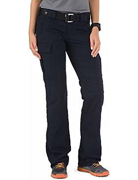 5.11Tactical–Pantalones de la Mujer, Mujer, 64386-724, Azul Marino, 4/Regular