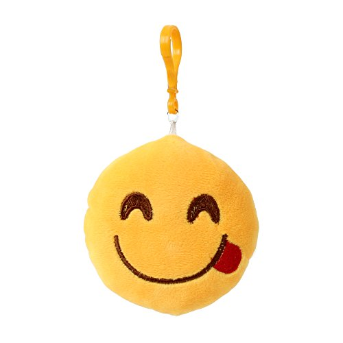 porte-cles-emoji-emojicon-10-cm-avec-cordon-et-carabine-lecker
