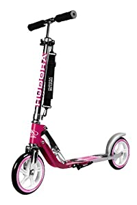 HUDORA Big Wheel 205 Scooter, magenta/silber - Tret-Roller - 14764