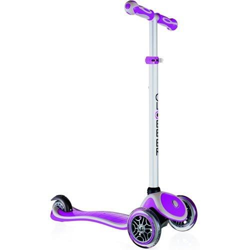 Preisvergleich Produktbild Free wheel Globber My 3 Rollen Pflaum/Grau