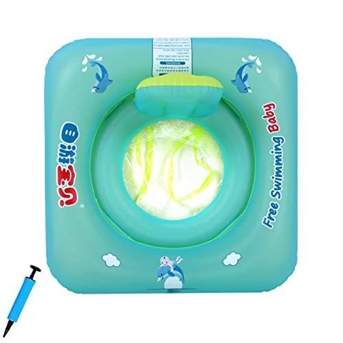 Baby Schwimmring Baby Float Schwimmreifen Mit Baby Schwimmsitz,Baby Schwimmhilfe Baby Schwimmen Ring,Aufblasbarer Kleinkind Kinder Schwimmreifen Schwimmbad Schwimmring für 6-18 Monate Baby (Stil B),S