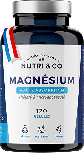 Magnesium Végétal & Vitamine B6 Bio-Active | Malate & Liposome de Magnésium | Absorption...