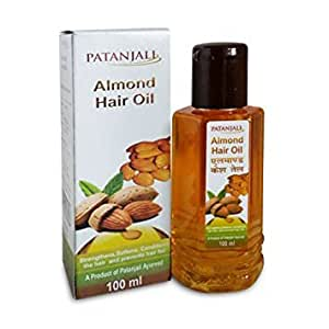 Patanjali Hair Almond Oil 100 ml (Pack of 4)
