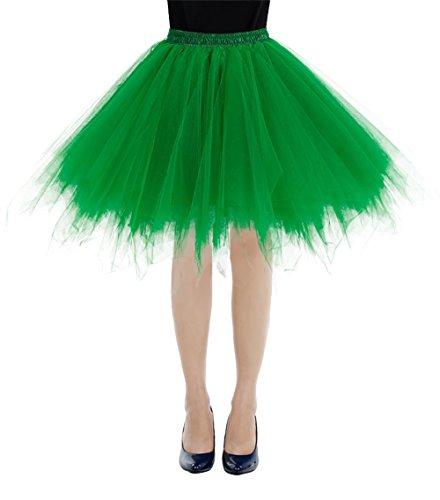 etro Petticoat Rock Ballett Blase 50er Tutu Unterrock Green S ()