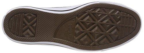 Converse Ctas Ox, Sneaker Unisexe - Adulte Noir / Blanc