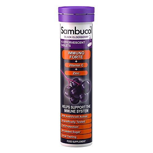 Sambucol Immuno Forte Effervescent - Pack of 15 Tablets -