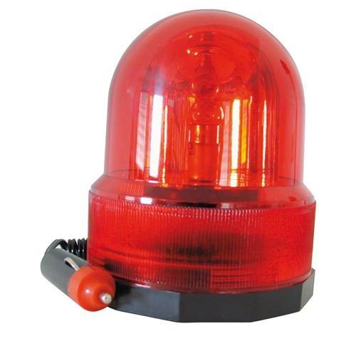 2 LED Rotlicht Lampe Signallampe Rundumlicht Party Deko Blinklicht rot