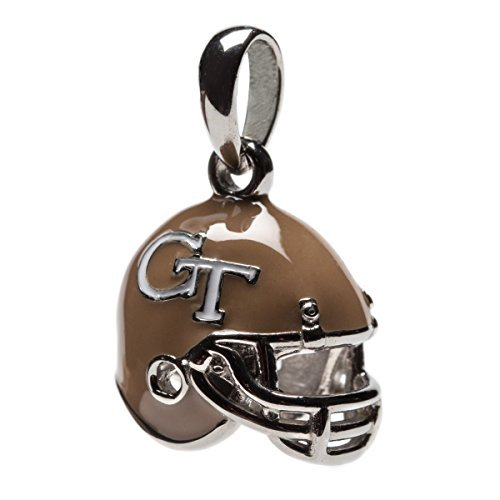 Stone Armory Georgien Tech Gelb Jacken baumeln Football Helm Charm Bead