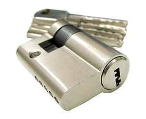 Halbzylinder cadenas 40 mm cylindre profil pour porte de garage bricolage - Cadenas pour porte de garage ...