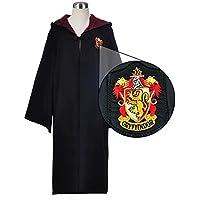 WMAOT Déguisement Harry Potter Cape de Sorcier Manteau Gryffindor et Slytherin Cosplay Costume Adulte