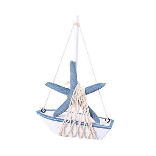 WINOMO Hechas a Mano Vintage Mediterráneo Sailer Velero...