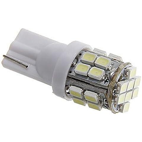 FULLModerna lampadina auto di T10 3W 24x1206 SMD 80-90ML bianco LED del segnale di girata (Girata Del Lato Del Segnale Indicatore Luminoso)