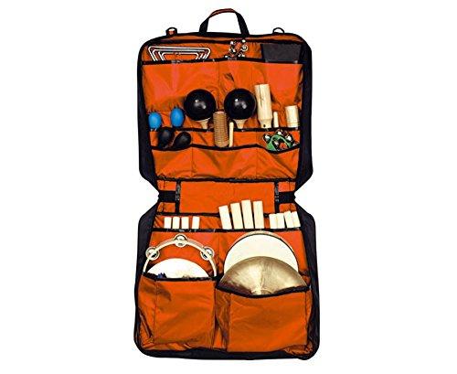 Percussions-Tasche mit 24 Instrumenten - Kinder Musikunterricht Musik-Schule Triangel Trommel Maracas Claves Tamburin Set Musikunterricht Klassensätze Musik Rhytmus Rhytmikinstrumente