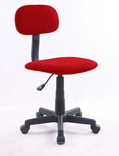 EUROSILLA Bart Chefsessel Schreibtisch, 79x 41x 74cm, Rot
