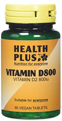 Health Plus Vitamin D 800iu Vitamin D Supplement - 90 Tablets