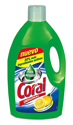 Coral Lavavajillas Manual - 3000 ml