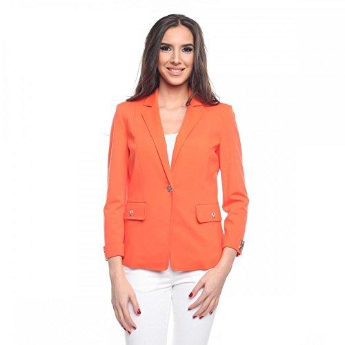 Versace Jeans Damen-Blazer EC2HHB550E11543, Größe:40;Farbe:Braun