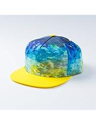 "'herin gsküt Snapback ""The Yellow Fin Tuna (Pêche, thon, casquette de baseball Caps)"
