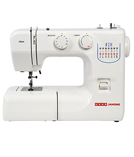 Usha Allure Electric Sewing Machine (White)