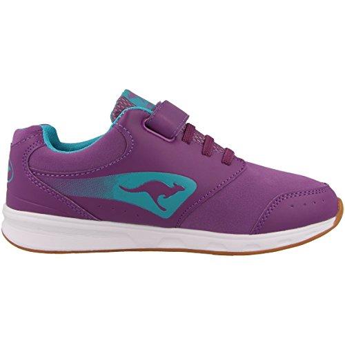 KangaROOS, Sneaker bambini dark berry-turquoise blue (18065-6004)