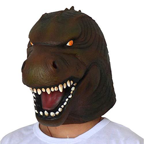 Erwachsene Godzilla Maske für Kinder beängstigend Halloween Masken Männer Dinosaurier Maske Halloween Party Animal Dinosaurier Kopf Maske
